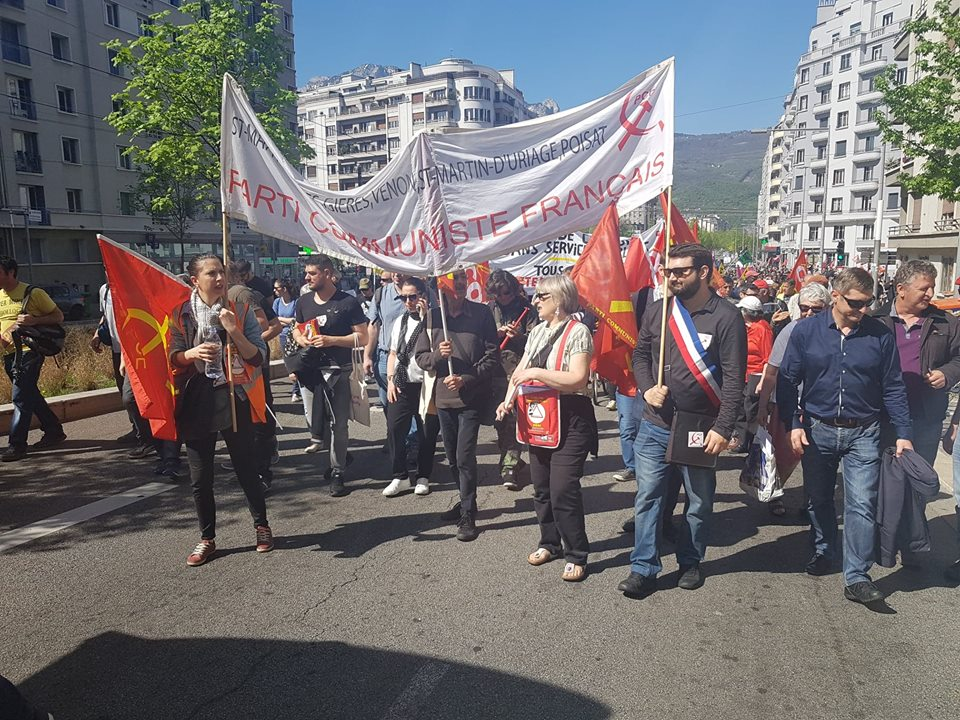 Manifestation 19 avril 2018