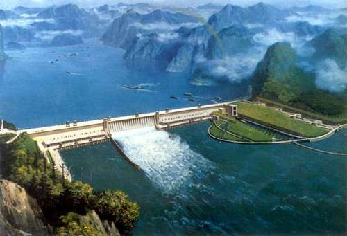 Barrage des 3 gorges en Chine